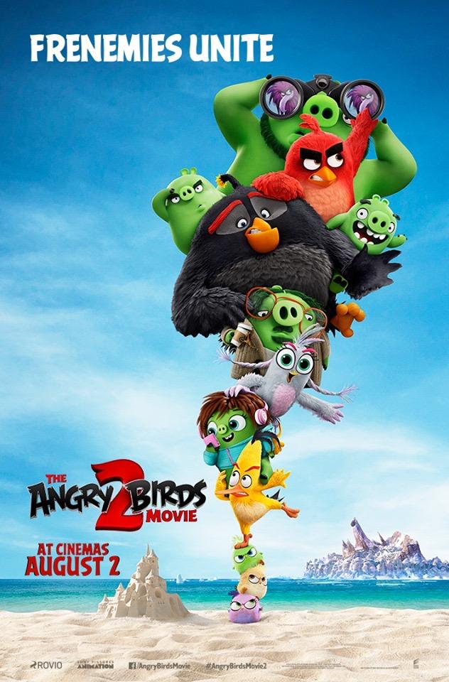 The Angry Birds Movie 2 (2019) แอ็งกรี เบิร์ดส เดอะ มูฟวี่ 2