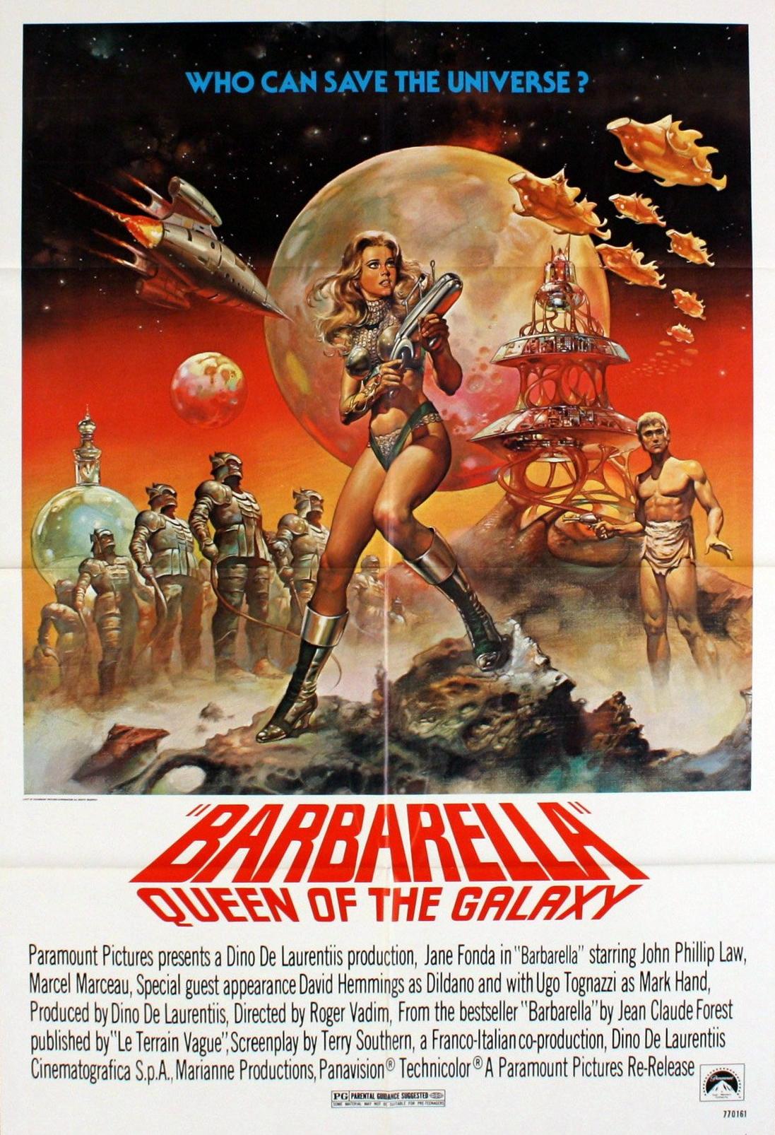 Barbarella (1968) บาร์บาเรลล่า