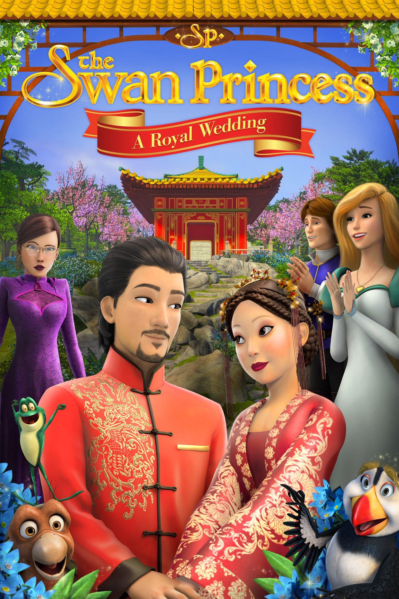 The Swan Princess A Royal Wedding (2020) เจ้าหญิงหงส์ขาว มหัศจรรย์วันวิวาห์
